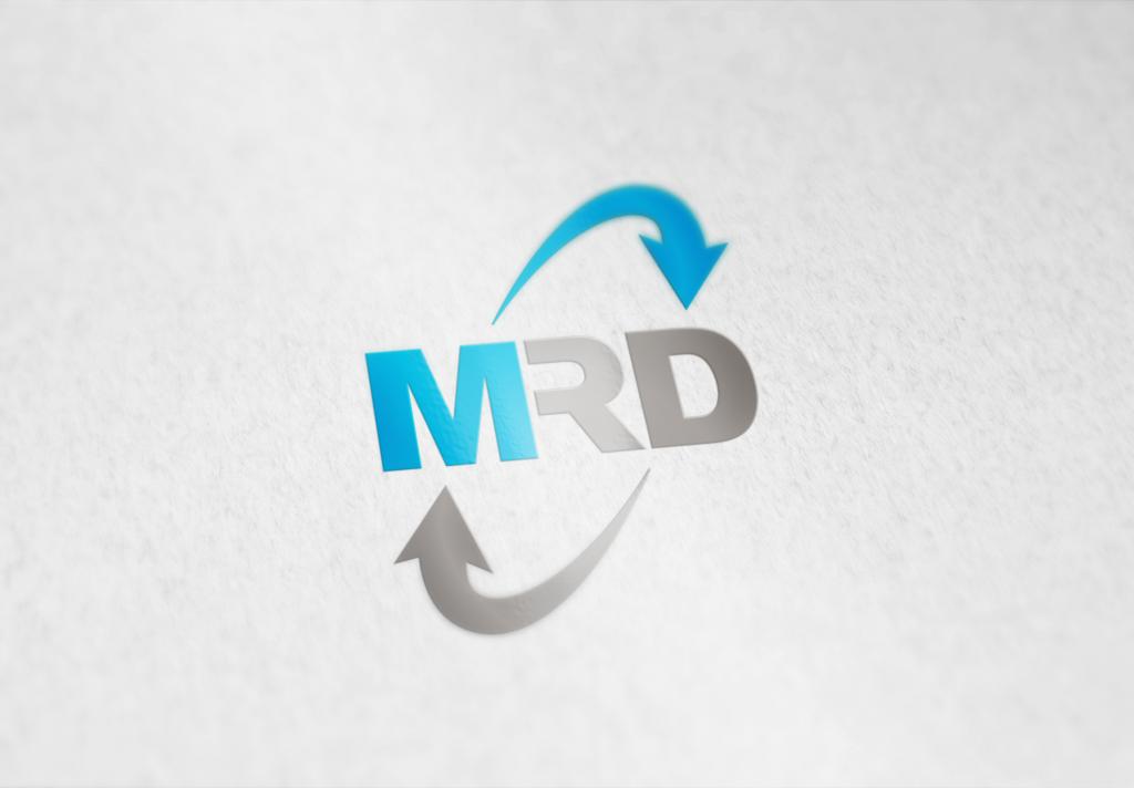 Logo mrd handels gmbh shikidesign for Burodesign gmbh logo